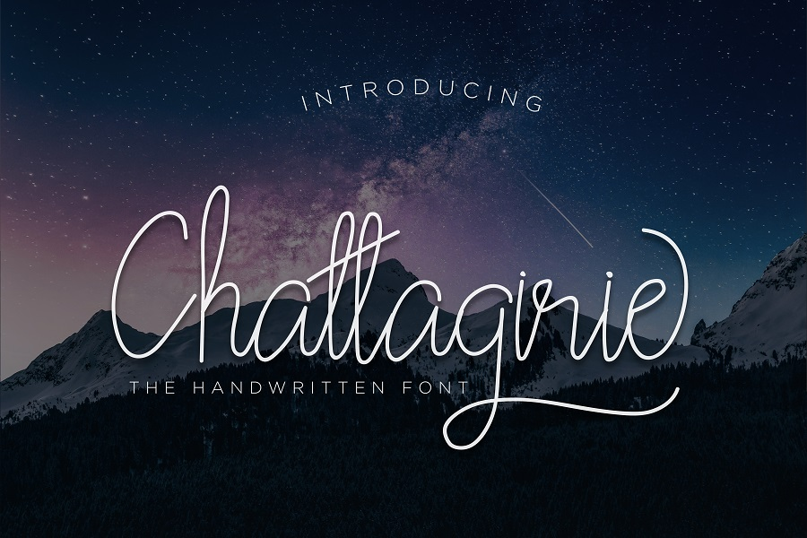 Chattagirie Handwritten Font