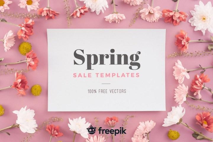 Free Spring Sales Templates