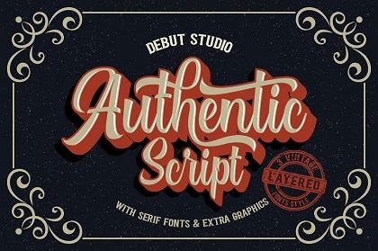 Authentic Script Font Demo