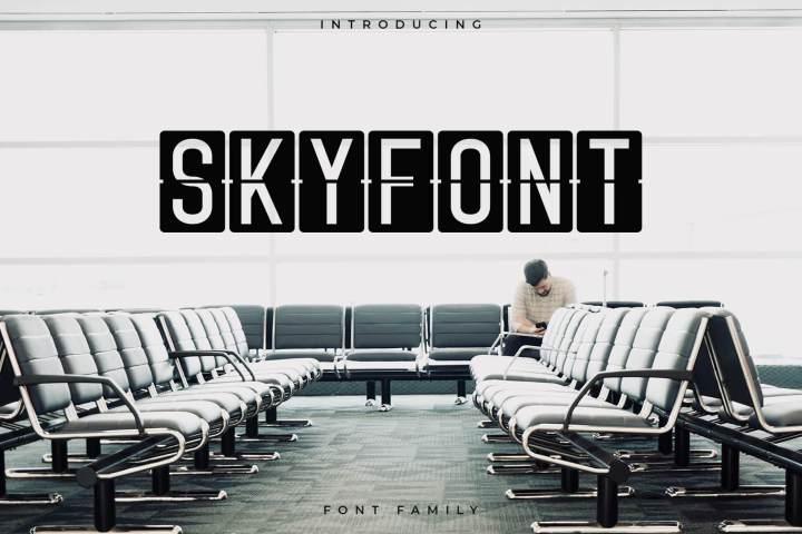 Skyfont Sans Serif Demo