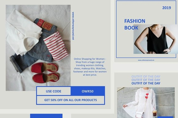 Instagram Fashion Bloggers Template