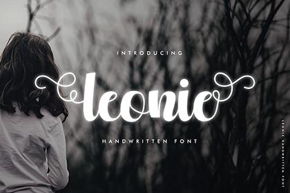 Leonie Script Free Font
