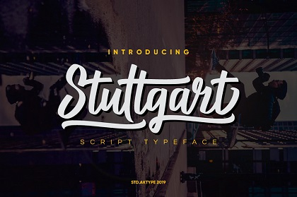 Stuttgart Script Free Demo