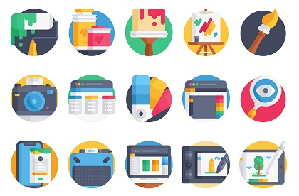 Creative Tools Icon Pack