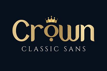 Crown Display Font Demo