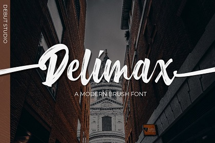 Delimax Brush Font Demo – Free Design Resources