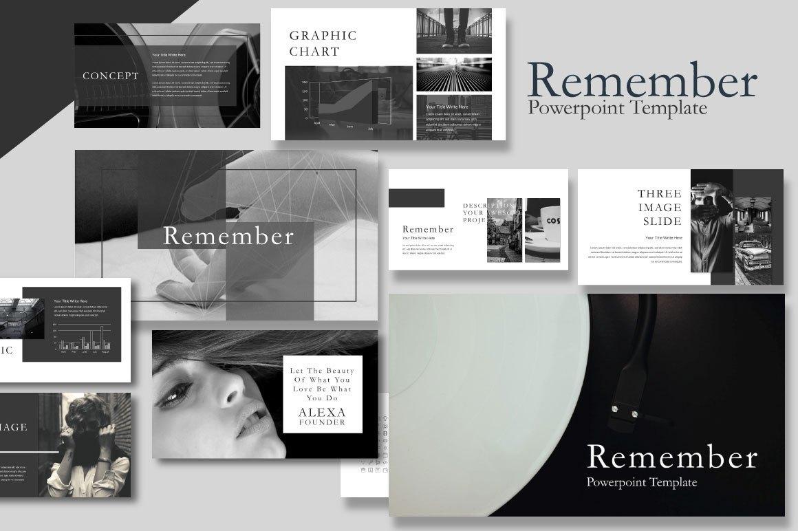 Free Remember Template Presentation