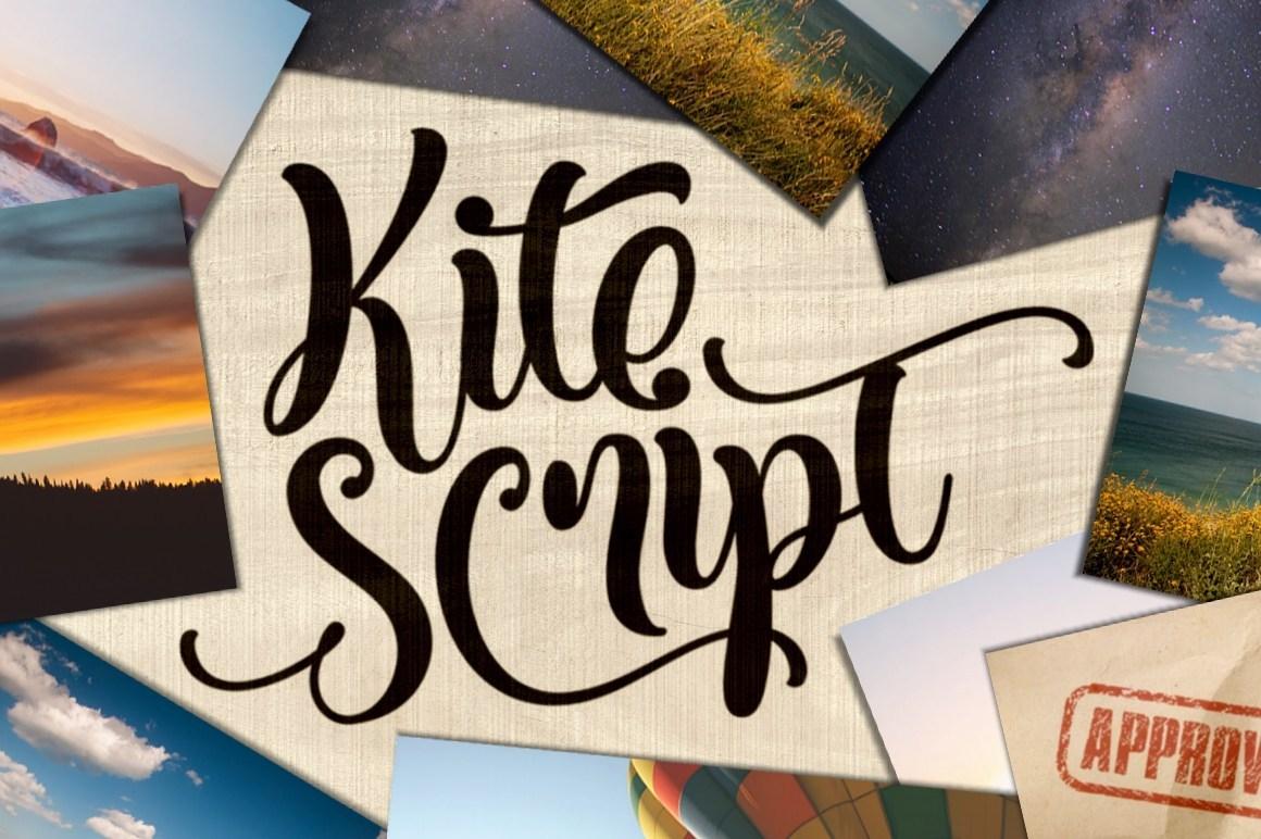 Kite Script Font Free Demo