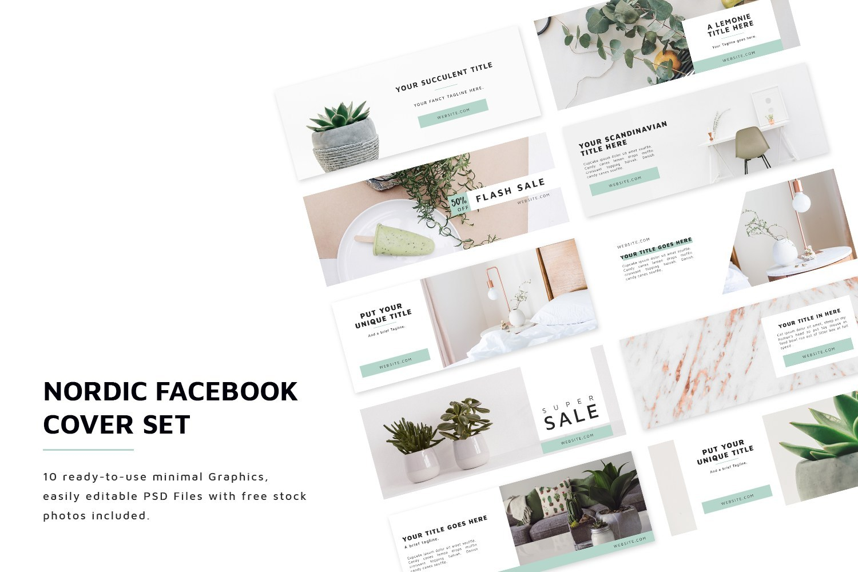 Nordic Facebook Cover Set