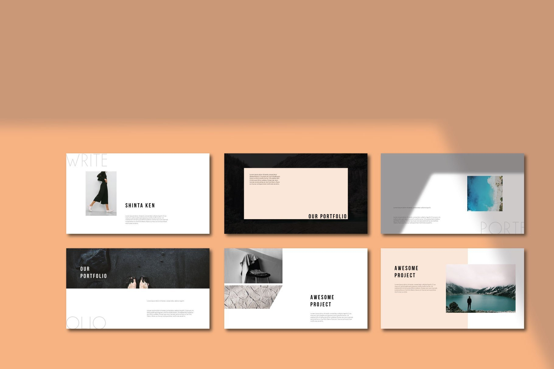 Write Presentation Template