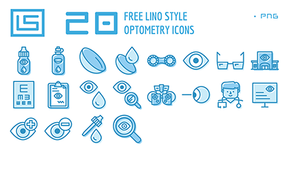 20 Free Optometry Icons