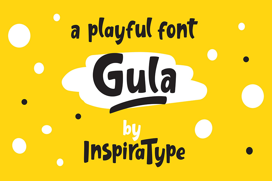 Gula Playful Font Demo