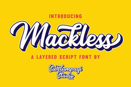 Mackless Script Free Demo