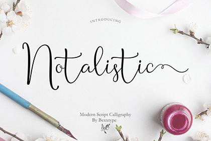 Notalistic Script Free Demo