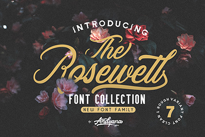 Rosewell Script Free Demo