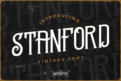 Standford Vintage Font Demo