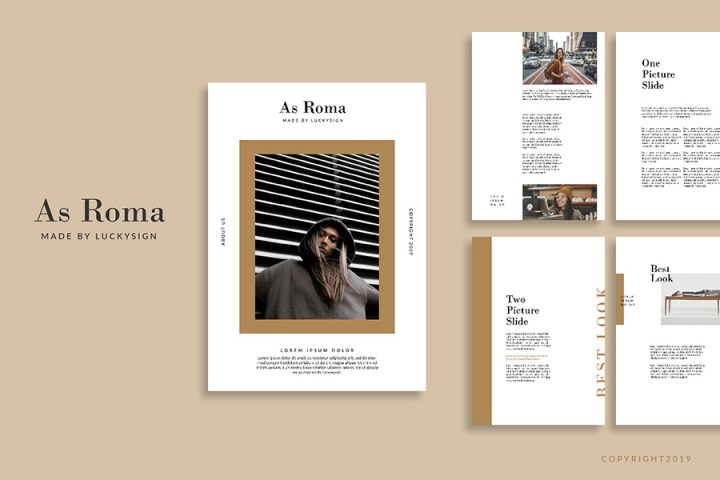 As Roma Magazine Template
