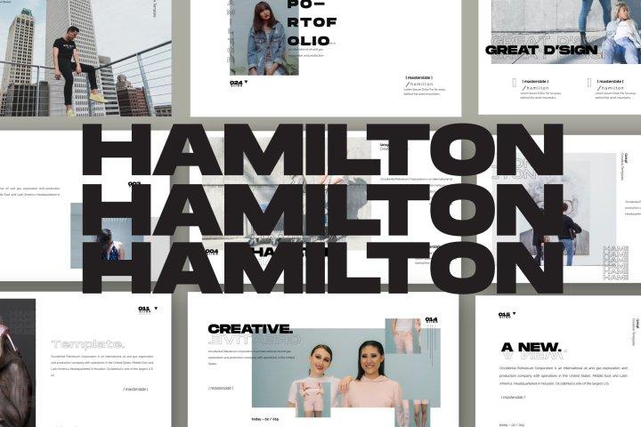 Hamilton Presentation Template