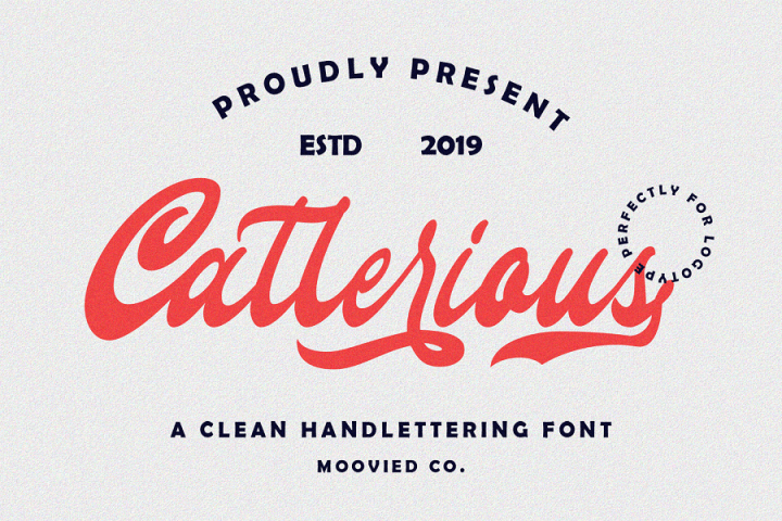 Callerious Handlettering Script