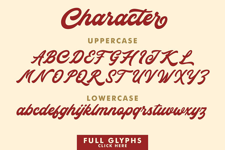 Rocka and Billy Font Demo