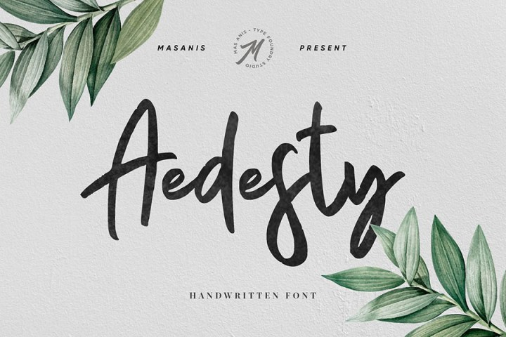 Aedesty Script Free Demo