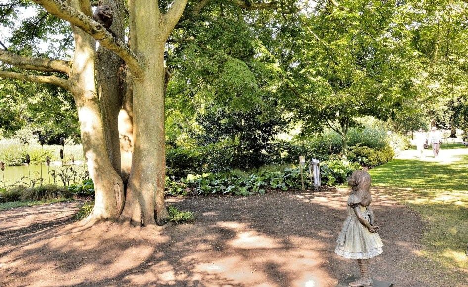 Alice at Wisley Gardens 2