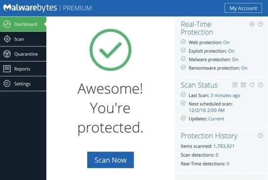 Malwarebytes Anti-Malware 4.1.1.167 Crack Plus Serial 2020 Download