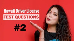 Hawaii Driver License Test Questions - Test 2