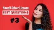 Hawaii Driver License Test Questions - Test 3
