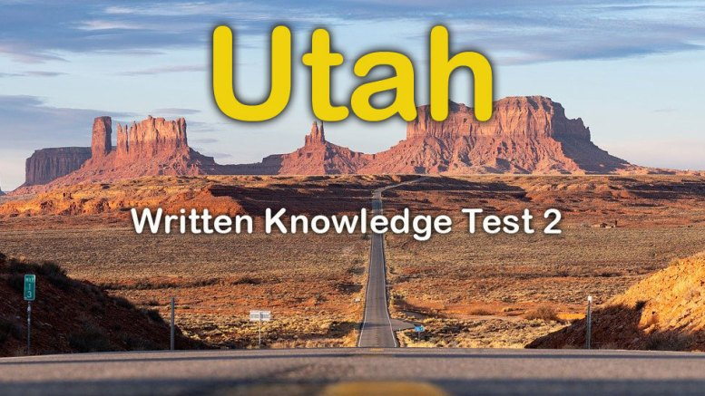Utah Written Knowledge Test 2