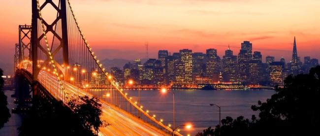 San Francisco Sunset - Copyright: Andrew Zarivny