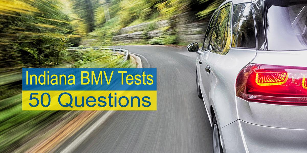 Indiana BMV Test | 50 Questions | Free DMV Tests