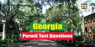 Georgia permit test questions - Free DMV Tests