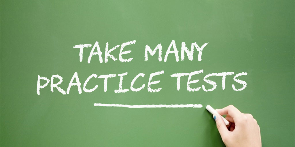 Take many practice tests