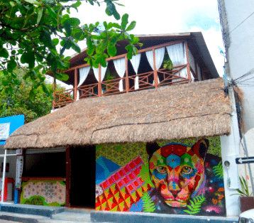 Jaguar Negro Hostel – Playa del Carmen, Mexico