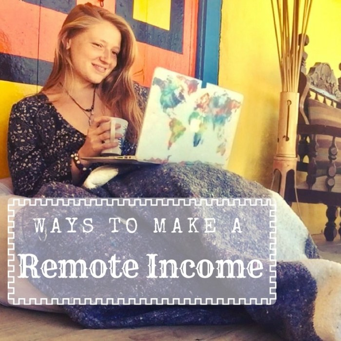 Ways to Make a Remote Income