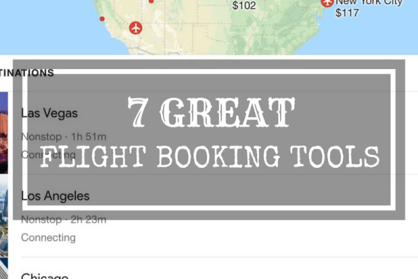 7 Great Flight Booking Tools