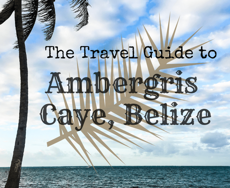 The Travel Guide To Ambergris Caye
