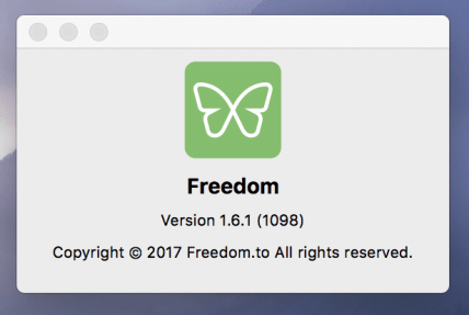 Make sure you have Freedom 1.6 or later