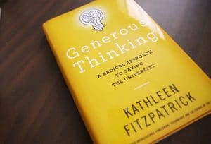 Generous Thinking by Kathleen Fitzpatrick