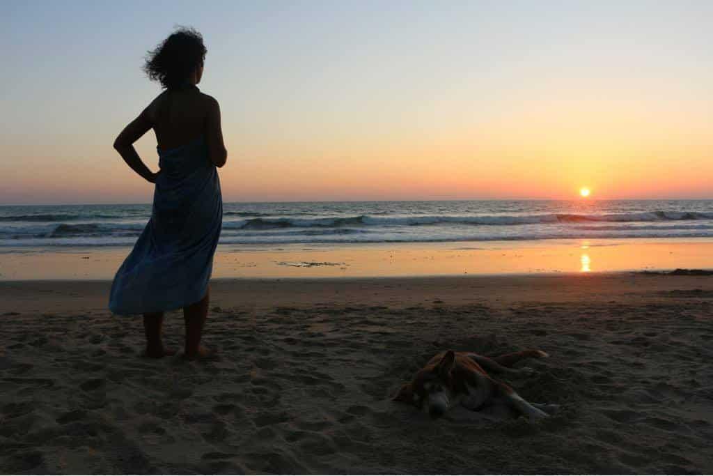 Yoga Sunset Freedom