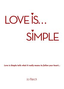 "book cover Jo March ""Love is simple!"""