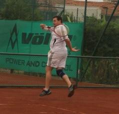 Geoff playing tennis