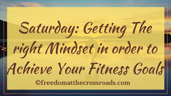 Saturday getting grounded with the right mindset