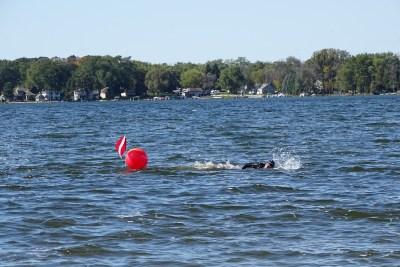 swimmingredbuoy