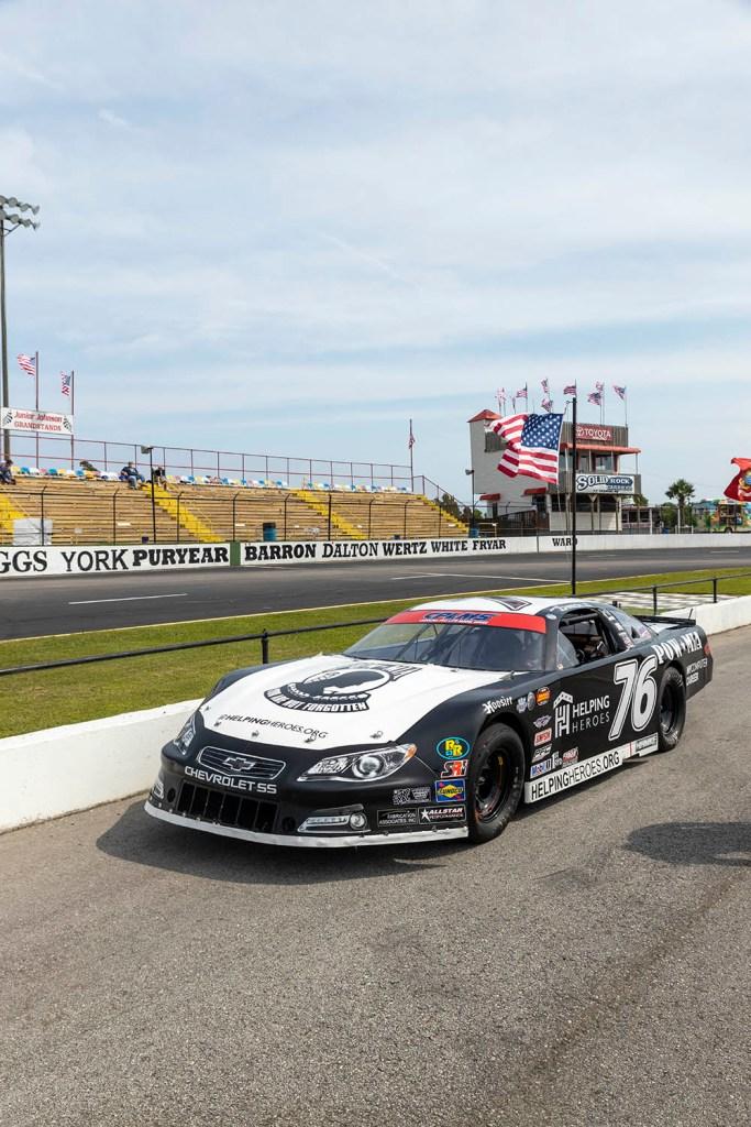 POW-MIA Freedom Car Carteret Speedway