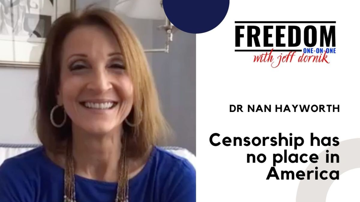 Dr Nan Hayworth: Big Tech's Censorship is reminiscent of the Soviet Union