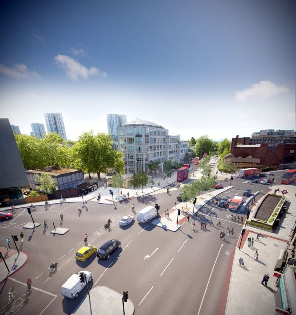 Swiss Cottage Cycle Superhighway 11
