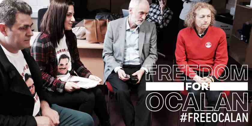 Jeremy Corbyn calls for lawyers to be allowed to visit Öcalan
