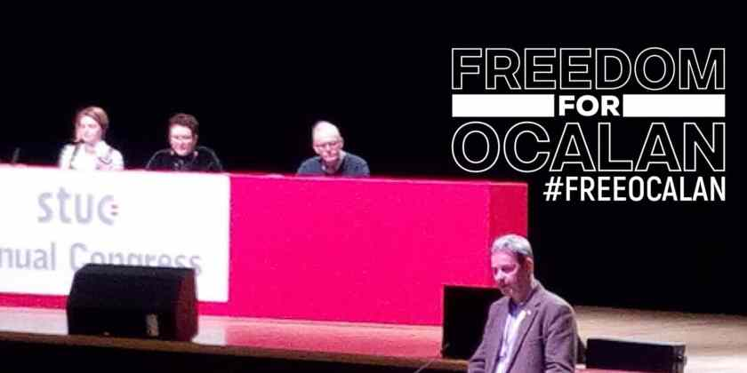 STUC supports Öcalan and Scottish Kurdish community – what next?